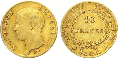 40 Frank 1806 A, Paříž