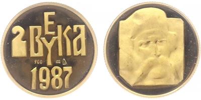 Medaile 1987