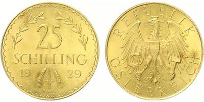 25 Schilling 1929