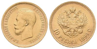 10 Rubl 1899