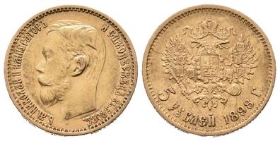 5 Rubl 1899