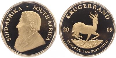 Jihoafrická republika, Krugerrand 2009, PROOF, číslo 95