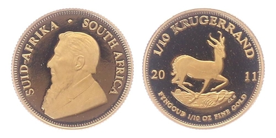Jihoafrická republika, Krugerrand 2011, PROOF