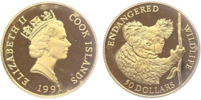 Kanada, 50 Dollar 2007, běžná kvalita