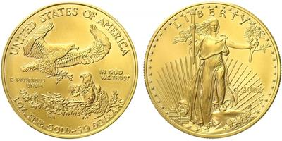 USA, 50 Dollar 2006 - Liberty, Au 0,9167 (33,931 g), 1 OZ