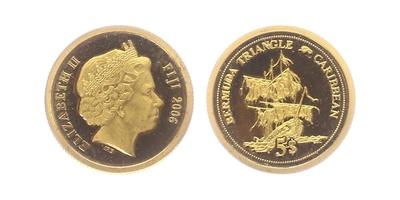 5 Dollar 2006 - Bermudský trúhelník, PROOF