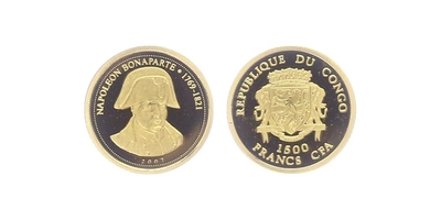 1500 Franků 2007 - Napoleon Bonaparte, PROOF