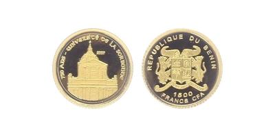 1500 Franků 2007 - 750 let Sorbony, PROOF