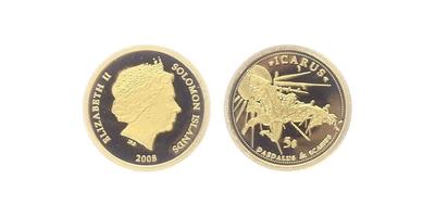5 Dollars 2008 - Ikaros, PROOF