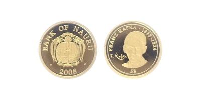 5 Dollars 2008 - Franz Kafka, PROOF