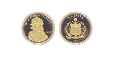 Dollar 2009 - Fridrich I. Barbarossa, PROOF