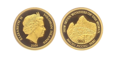 10 Dollar 2009 - Machu Picchu, PROOF