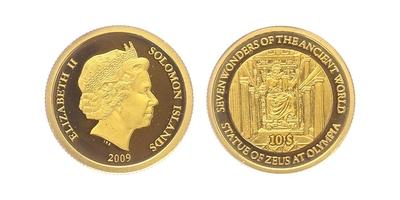 10 Dollar 2009 - Feidiúv Zeus v Olymlii, PROOF