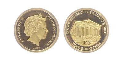 10 Dollar 2009 - Artemidin chrám v Efesu, PROOF