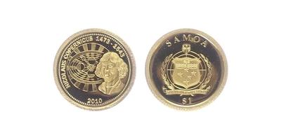 Dollar 2010 - Mikuláš Koperník, PROOF