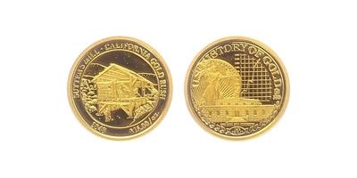 Medaile 2010 - Kalifornská zalatá horečka, PROOF
