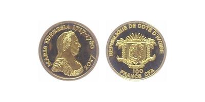 100 franků 2017 - Marie Terezie, PROOF