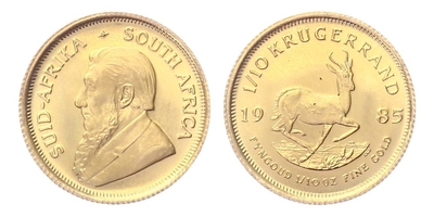 Jihoafrická republika, Krugerrand 1985, 1/10 OZ