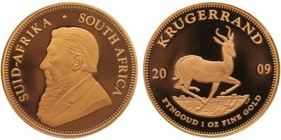 Krugerrand 2009, PROOF