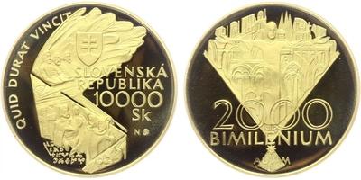 10000 Sk 2000 - Bimilénium, PROOF