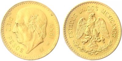 10 Pesos 1959