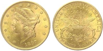 20 Dollar 1897 S