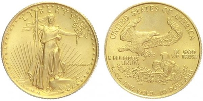 10 Dollars 1986 - Gold Eagle