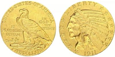 5 Dollar 1911