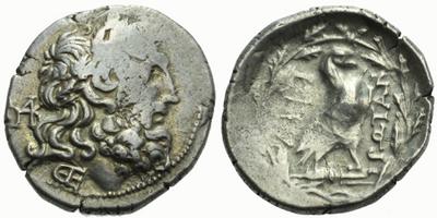 AR Drachma, Hlava Dia / Orel, Sear.1972, 20 mm (4,7 g)