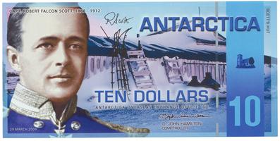Antarktida, 10 Dollars 29.3.2009