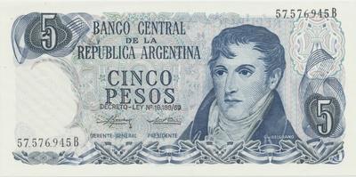 Argentina, 50 Centavos (1948~1950), P.256