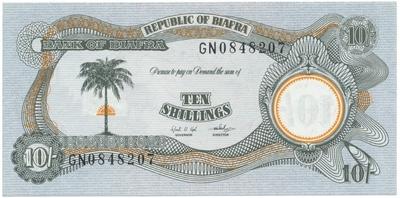 Biafra, 10 Shillings (1968~69), P.4