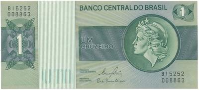 Brazílie, 1 Cruzeiro (1980), P.191Ac