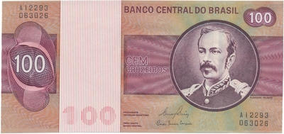 Brazílie, 100 Cruzeiros (1981), P.195Ab