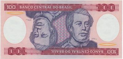 Brazílie, 100 Cruzeiros (1984), P.198b