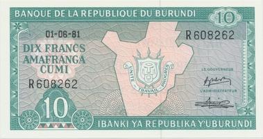 Burundi, 2000 Francs 2001, P.41