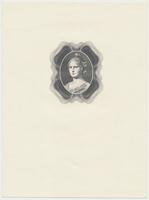 Protektorát Čechy a Morava, 50 K 1940/100 Kčs 1945, černotisk kombinované rytiny hlavy ženy, Hej.36+82, BHK.34+77