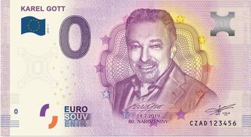 0 EURO 2019, Karel Gott, poslední kus