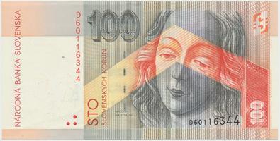 100 Koruna / 1. 7. 1996, série D, Hej.SK17a1, BHK.SK8bD
