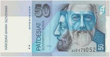 50 Koruna / 2. 5. 2002, náhradní série A, Hej.SK38a2, BHK.SK6eA   N/UNC