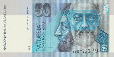 50 Koruna / 16. 11. 2005, náhradní série A, Hej.SK45a2, BHK.SK6fA