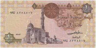 Egypt, 1 Pound 1982~1984, podpis č. 16, P.50b