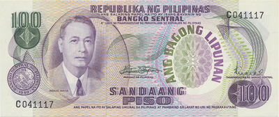 Filipíny, 100 Piso (1977), P.157b
