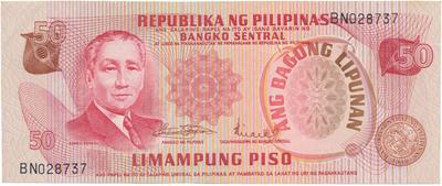 Filipíny, 50 Piso (1978), P.163a