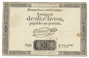 Francie, 10 Livres  24. 10. 1792, P.A66a