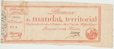 Francie, 100 Francs 1796, P.A84b