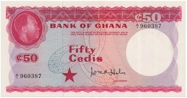 Ghana, 50 Cedis (1965), P.8