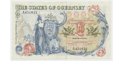 Guernsey, 10 Pounds b.d. (1975~1980), P.47