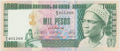 Guinea - Bissau, 1000 Pesos 1983, P.8b