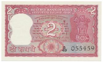 Indie, 2 Rupees (1977~1982), P.53d~f